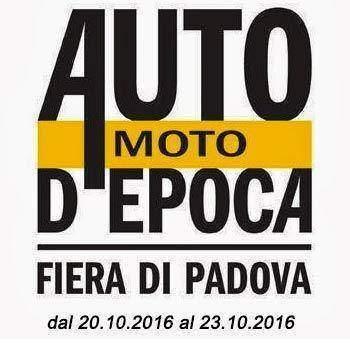 Auto e Moto d'Epoca 2016