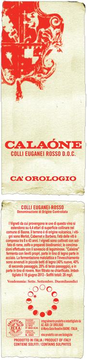 vino calaone